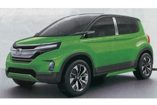 有了 HR-V、CR-V 還不夠,Honda 將再推全新入門 SUV!