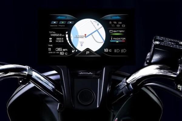 與 Gogoro 同採電池交換系統!新款 125 等級電動機車具大螢幕儀表是亮點