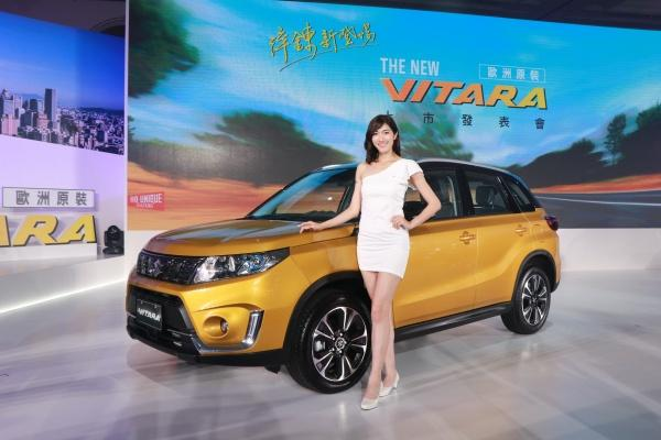 Suzuki Vitara 小改款正式發表,內外觀與安全配備都有進化!