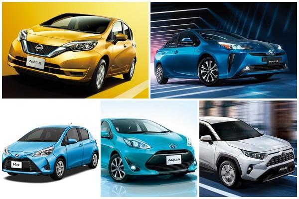 日本 7 月新車銷售排行出爐:Toyota RAV4 再度入榜前 10 名!