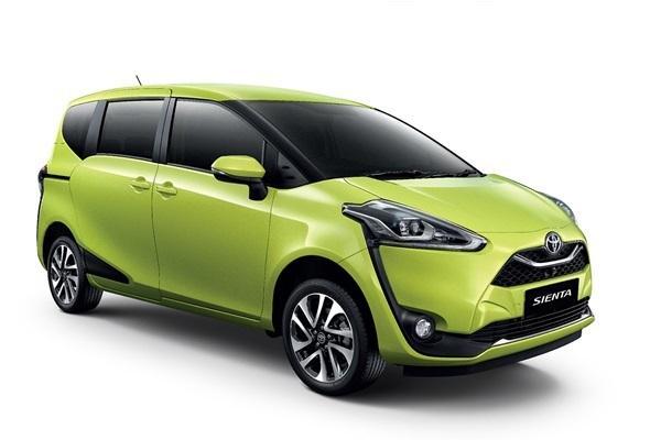 外型跟日規不一樣!小改款 Toyota Sienta 亞洲登場