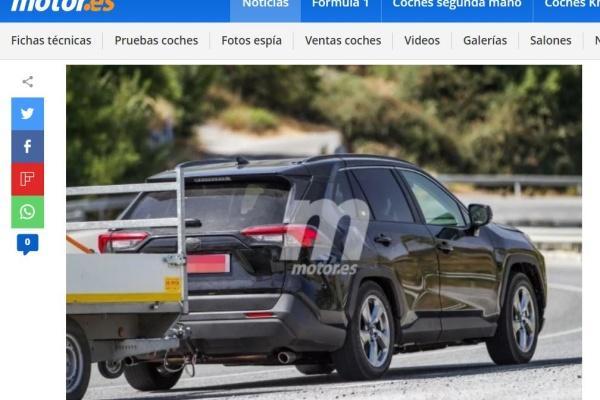 Toyota RAV4 還可以更省油!外媒拍到疑似 PHEV 車型現身