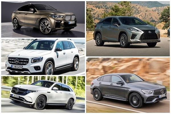 Lexus、M.Benz 休旅車輪番上陣,台灣將上市豪華新車一次看!