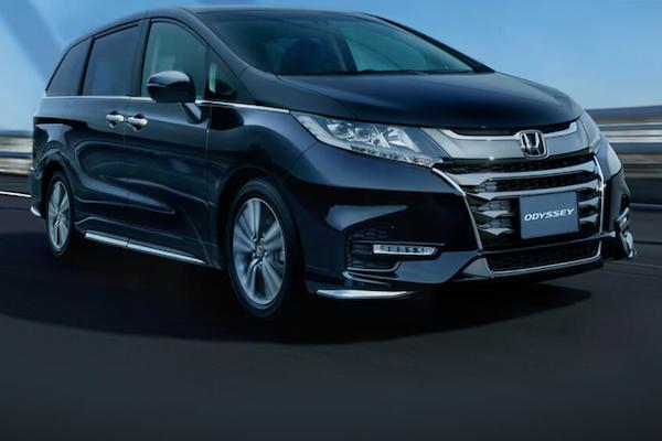 Honda Odyssey 新年式傳漲價消息!車色也有所調整