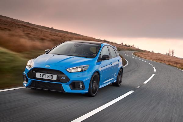 福特總裁自曝:性能車 Ford Focus RS 大改款也將電動化