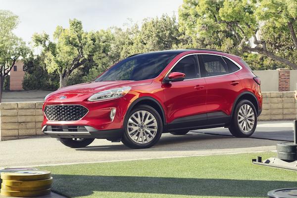 Ford Kuga 進入產品末期,大改款車型將重拾經典車名!