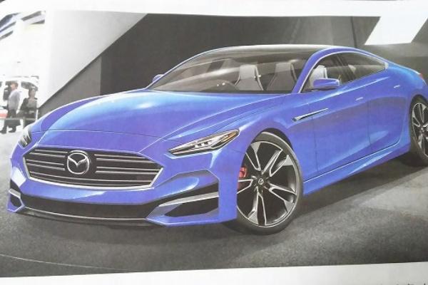 日媒公布大改款 Mazda 6 可能樣貌,有賓士 CLS 的優雅感!