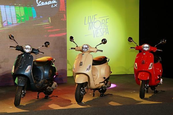 Vespa 全新改款 LX 125 i-get FL 發表,導入多項科技配備!