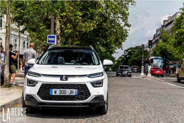 納智捷 URX 測試車現身法國街頭!網傳明年進軍歐洲市場