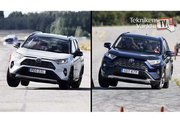 RAV4 麋鹿測試外媒給負評,Toyota 官方親上火線給回應!