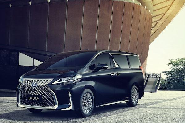 Lexus 最豪華 MPV,LM 台灣首演時間已確定!