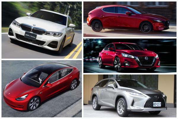 9 月台灣新車銷售排行,特斯拉 Model 3 登上前 10 名!