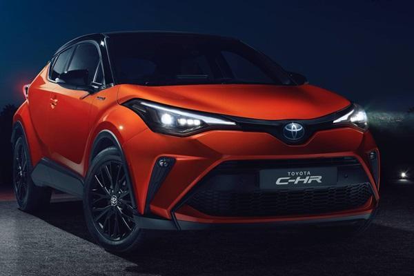 有新的油電動力!小改款 Toyota C-HR 突襲發表亮相