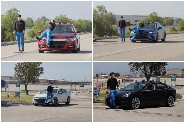 AEB 緊急剎車系統缺失,美 AAA 實測 4 款車都不合格!