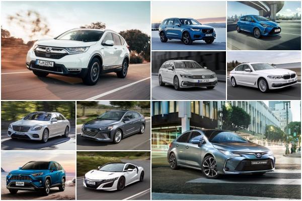 想省油又不想換電動車,車輛評測機構選出各級距 Top3 油電車!