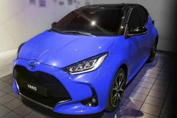 Toyota Yaris 大改款終於現身!3 張間諜照看透外觀全樣貌