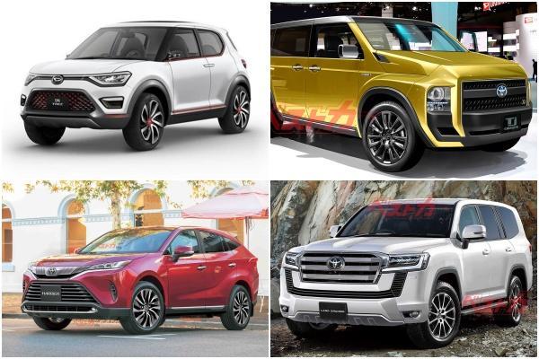 Toyota 即將登場 4 款全新 SUV,日媒公布問世時間與資訊!