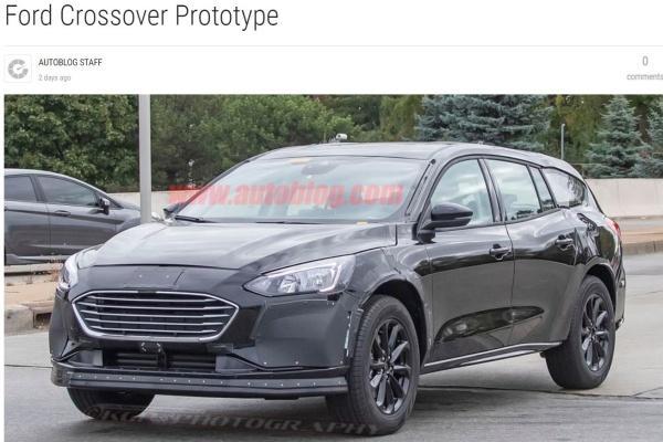 Ford 全新跨界旅行車偽裝現身!將取代 Mondeo、S-MAX 市場