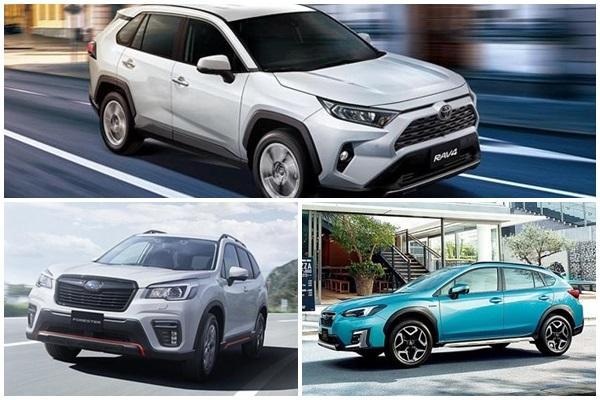 跟 RAV4 Hybrid 拚人氣,台灣 Subaru 計畫推出 2 款油電休旅!