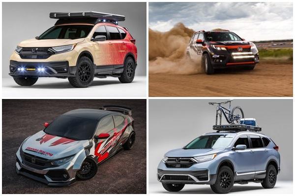 CR-V 佔盡版面,Honda 一次秀多部新車作品!