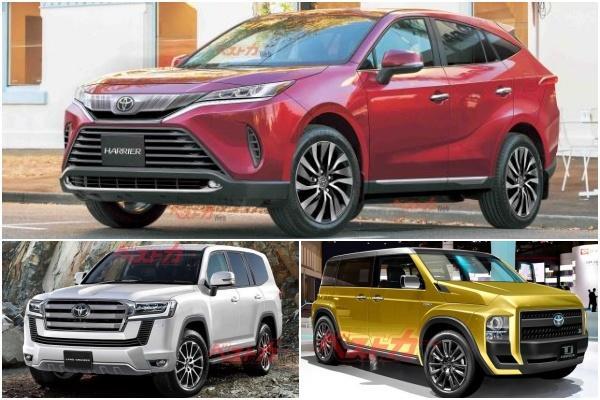 Toyota 明年還有 3 款新 SUV 將問世,日媒公布發表時間點!
