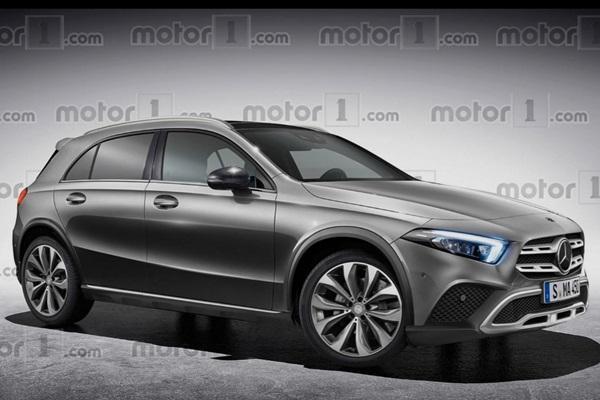 Lexus UX 的新威脅,M.Benz 新一代跨界小休旅亮相時間有譜了!