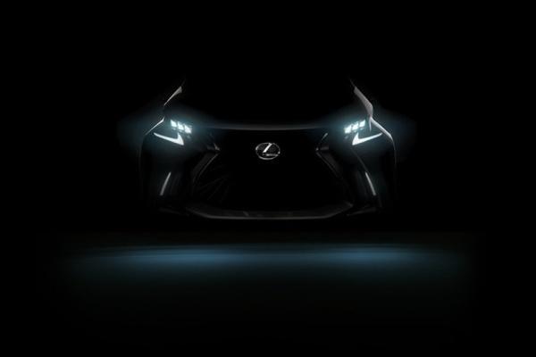 造型攻擊性十足!Lexus 全新車款預告圖曝光
