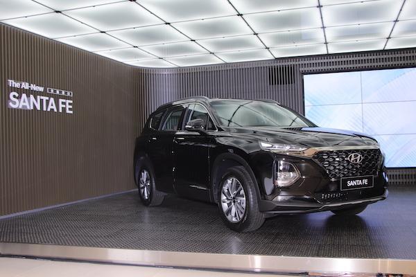 Hyundai Santa Fe 大改款台灣首亮相!現場還有純電動車 Kona