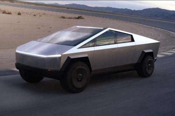 全車科幻風!Tesla發表CyberTruck皮卡破百加速只要2.9秒