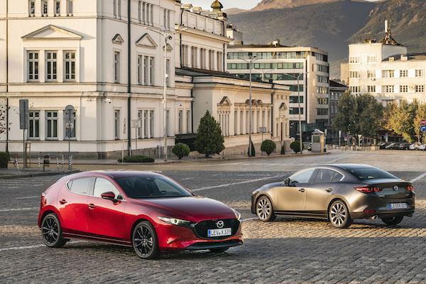 省油能力直追油電車!搭載最新引擎 Mazda 3 日本開賣