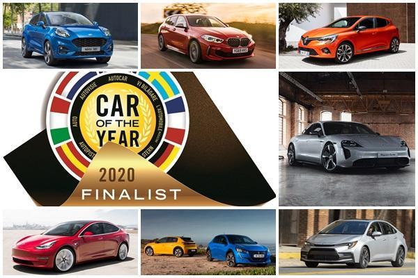 只有一款小休旅入選,7 輛新車角逐歐洲年度風雲車王座!