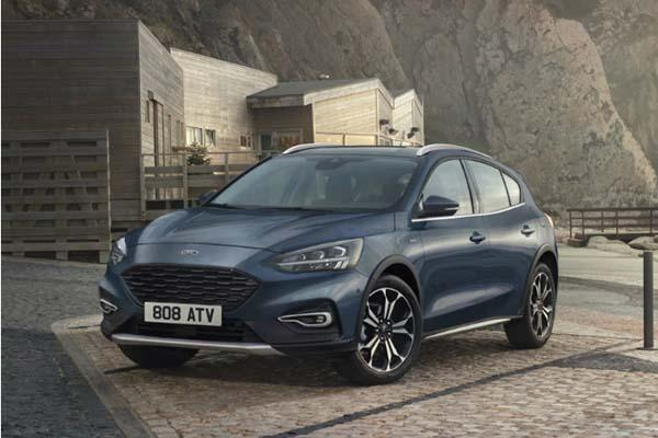 更高級的 Ford Focus 跨界 SUV,輕油電系統準備入列!