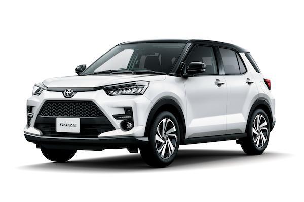 台灣無緣導入的小休旅,Toyota Raize 一個月訂單量很驚人!