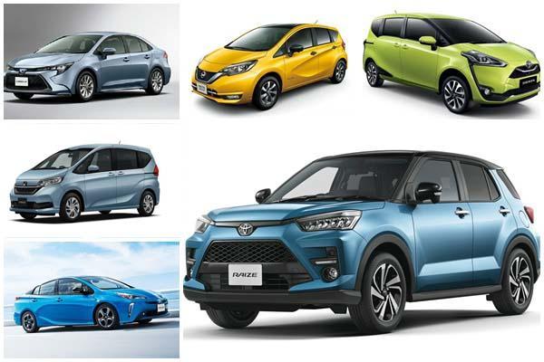 日本 11 月新車銷售有亮點:Honda 一雪前恥、Toyota 全新小休旅受關注!