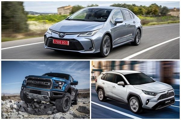 Toyota RAV4 銷售破紀錄,全球 1~10 月暢銷車、品牌前三名出爐!