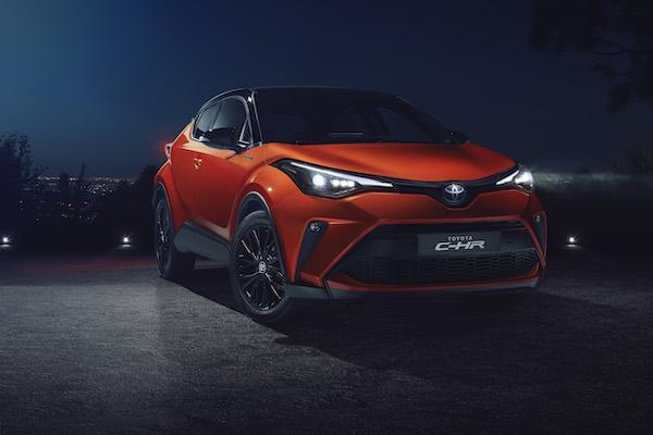 上市 2 年半終跟進!Toyota C-HR 小改款將有 TSS 輔助駕駛