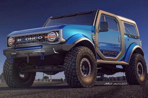 Ford 全新越野 SUV 可能樣貌出爐,明年春天將發表!