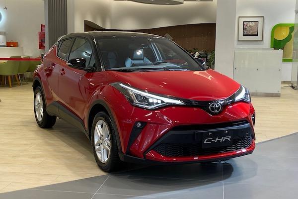 Toyota C-HR 小改款發表!TSS 主動安全防護系統納入配備
