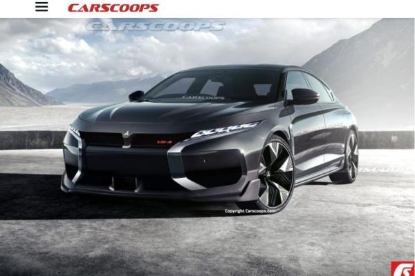 外媒稱三菱又一經典車款準備復活,並釋出可能樣貌!