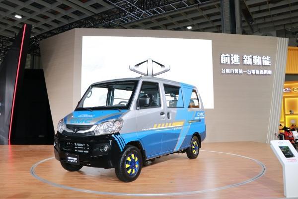 台灣首款電動商用車現身,三菱加碼展出超帥概念 SUV!