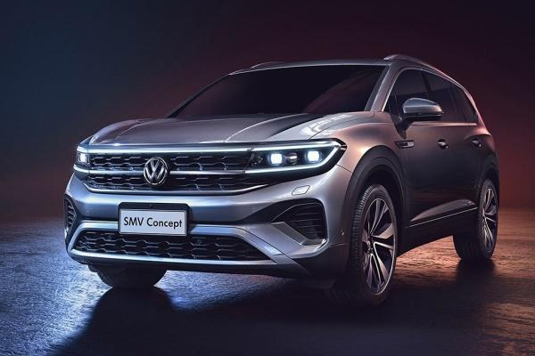 VW 最大 SUV 明年正式量產,內裝鋪陳搶先曝光!