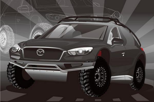 越野版 CX-5 明年 1 月亮相,官方搶先釋出預覽圖!