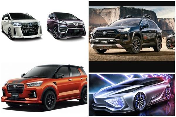 都是重磅級角色,Toyota 集團推出多款新作!