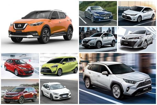 冠軍年銷破 3 萬輛!台灣 2019 年新車銷售前 10 強出爐