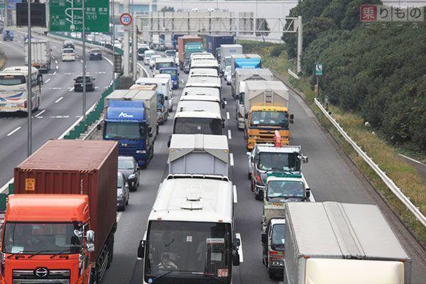 日本調查高速公路塞車情況,發現這樣開能讓塞車距離縮短!