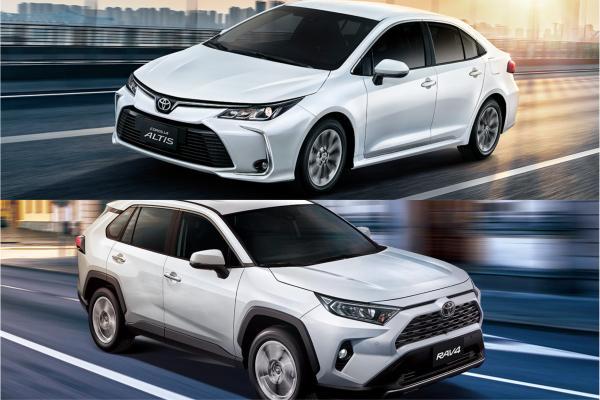 RAV4 以些微之差屈居第二!Toyota Altis 蟬聯 2019 台灣新車銷售冠軍