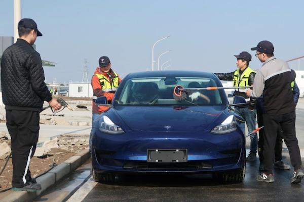 特斯拉中製 Model 3 打 9 折!中國買家下週就可拿車