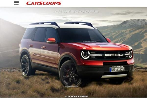 Ford 全新 SUV 可能樣貌出爐,定位 Kuga 越野版本!