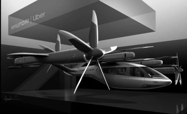 Uber 與現代汽車合作 將開發電動空中計程車