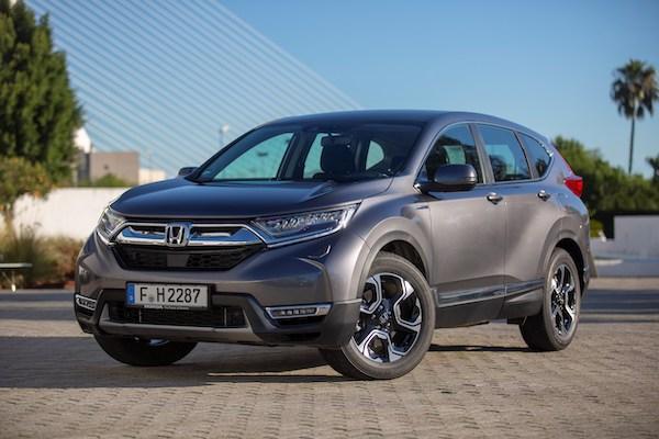與 Toyota RAV4 一較高下!Honda 宣布 CR-V 插電式油電今年亮相